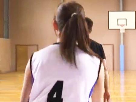 <原色美女>稲村亜美みたいな女子大生アスリート登場!バスケ歴12年が無残にもパコられるww<罰ゲーム企画>