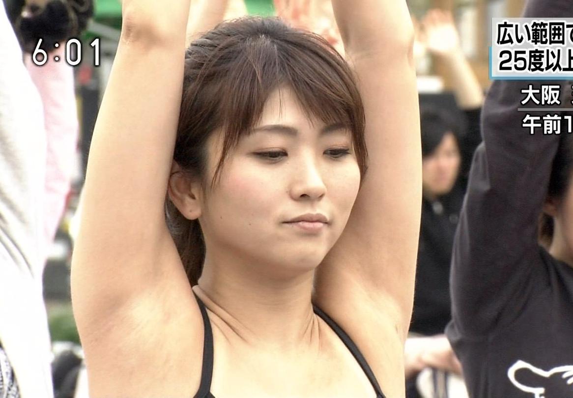 素人お姉さんの腋見せキャプ (3)