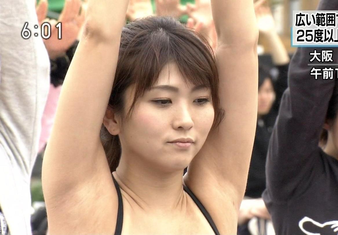 素人お姉さんの腋見せキャプ (4)