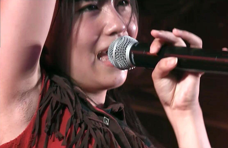 小嶋真子のジョリ汚腋 (3)