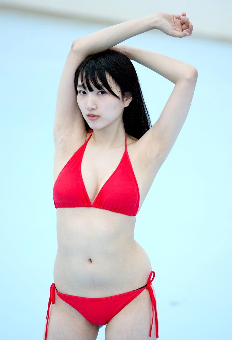 田中菜々のジョリ腋 (4)