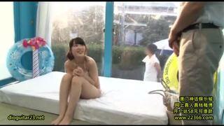 マジックミラー号にて、ビキニでポニーテールの美少女、宮崎あやのsexマッサージ中出し無料H動画!【寝取られ動画】