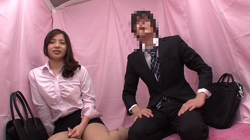 【OL】美人スケベなOL素人の、素股手コキプレイ動画!