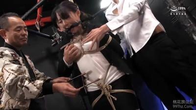 巨乳の熟女の、電マ調教緊縛無料動画!【熟女動画】