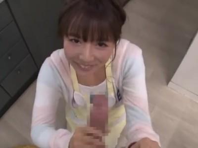 【三上悠亜】美人でHな巨乳のアイドル、三上悠亜の浮気フェラ主観プレイがエロい!まさにパーフェクト!