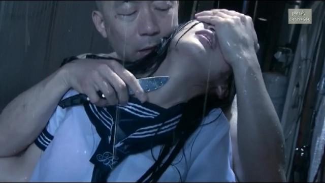 着衣で制服姿の女子校生JK、辻本杏の痴漢凌辱レイプ無料H動画!【辻本杏動画】