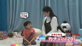 MM号にて、巨乳の女子大生保母の、ベロチュー無料エロ動画。【女子大生、保母、素人、ショタ動画】