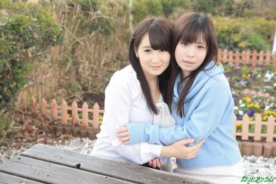 葵千恵 千野くるみ 20-02-15 かり美びあんず ラブラブレズえっち 002