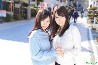 葵千恵 千野くるみ 20-02-15 かり美びあんず ラブラブレズえっち 003
