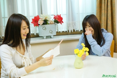 葵千恵 千野くるみ 20-02-15 かり美びあんず ラブラブレズえっち 007