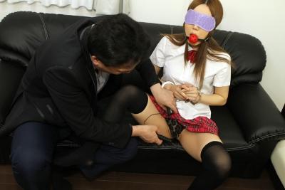 九条ティアラ 20-03-10 ドキドキ目隠し制服拘束プレイ 007