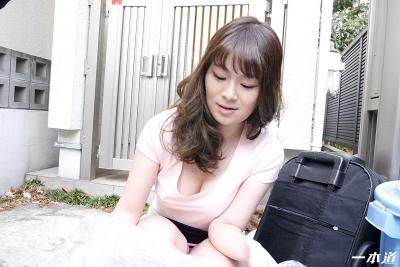 岡村香澄 20-05-28 朝ゴミ出しノーブラ奥さん 012
