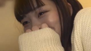 【素人 巨乳】 某アイドルグループ所属のHカップ美巨乳美少女とのハメ撮りで生ハメ中出し!
