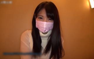 【素人】めっちゃ激カワ!!!!!!!!マスク取ってもマジでキュートな10代可愛すぎとホテルで・・・・