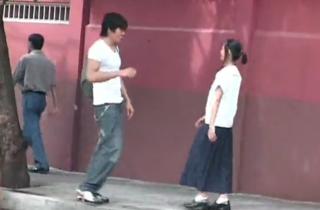 【無修正】 また悪さするんか~!!! 学校が終わってラブホでハメ撮りするナイスバディの女子校生JK