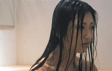 シャワーでずぶ濡れの壇蜜