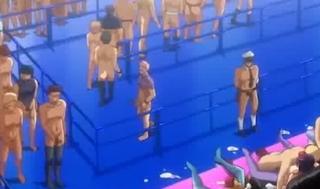 【エロアニメ】普通の握手会ではつまらない!ファンのチ○ポなら誰でもパコパコ受け入れちゃうアイドル