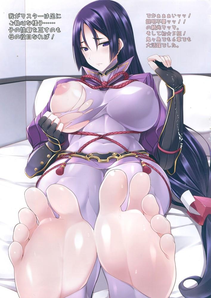 【二次元】源頼光の足フェチエロ画像【Fate/GO】