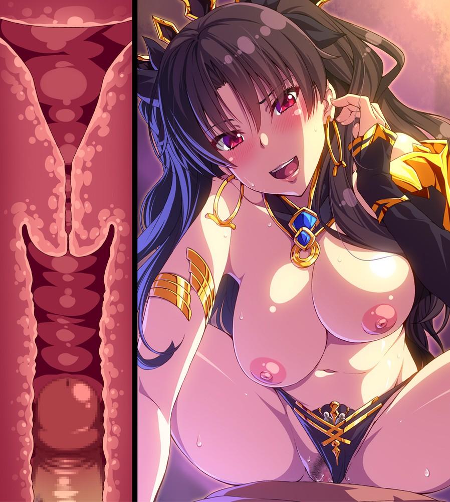 【二次元】イシュタルの騎乗位セックスエロ画像【FGO】