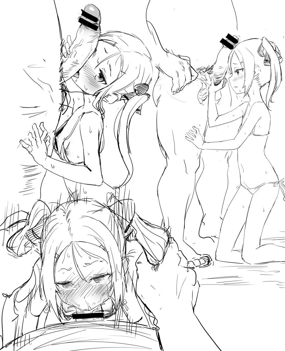 【二次元】三好夏凜のイラマチオ中出しセックスエロ画像1【結城友奈は勇者である】