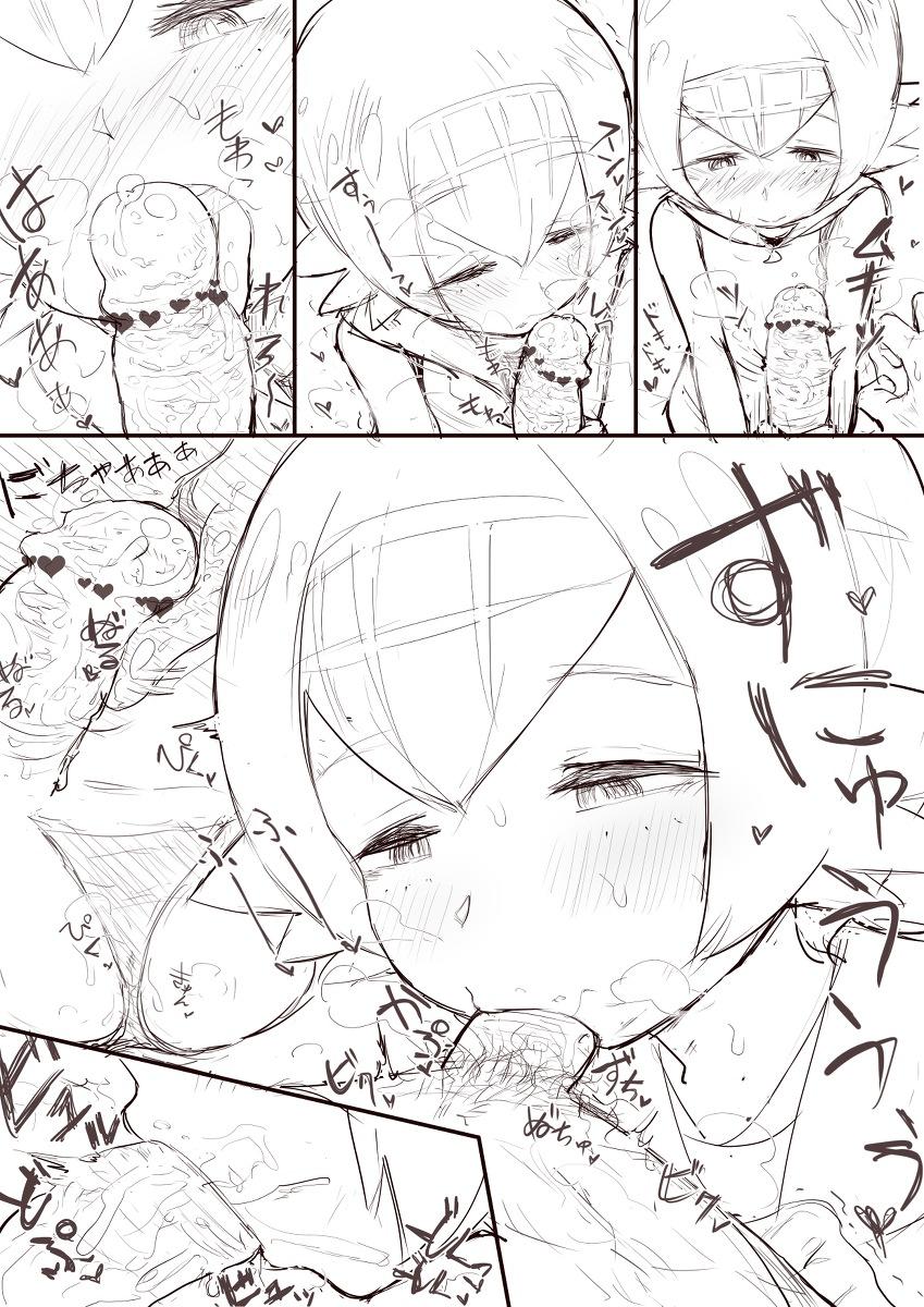 【ポケモン】スイレンのチンカスフェラ口内射精エロ画像【ポケットモンスター】