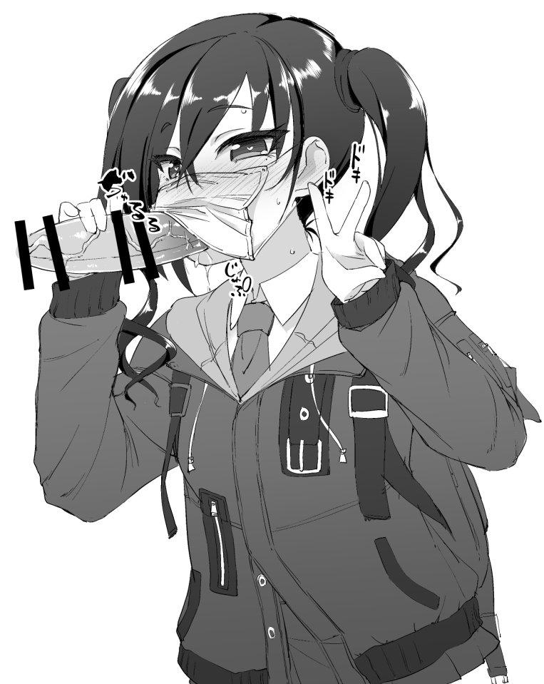 【デレマス】砂塚あきらのマスクフェラピスエロ画像【アイドルマスターシンデレラガールズ】