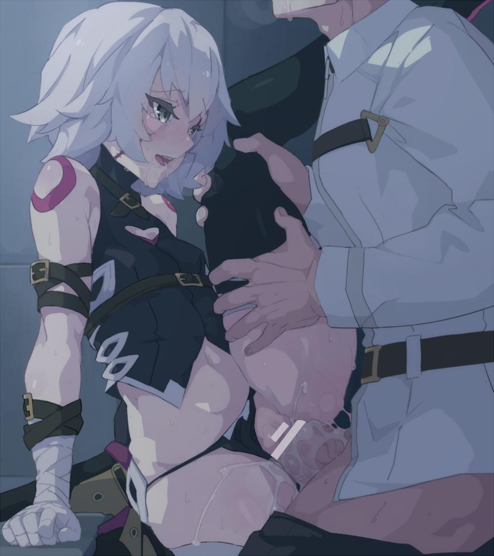 【FGO】ジャック・ザ・リッパーの立位中出しセックス二次エロ画像2【Fate/GrandOrder】
