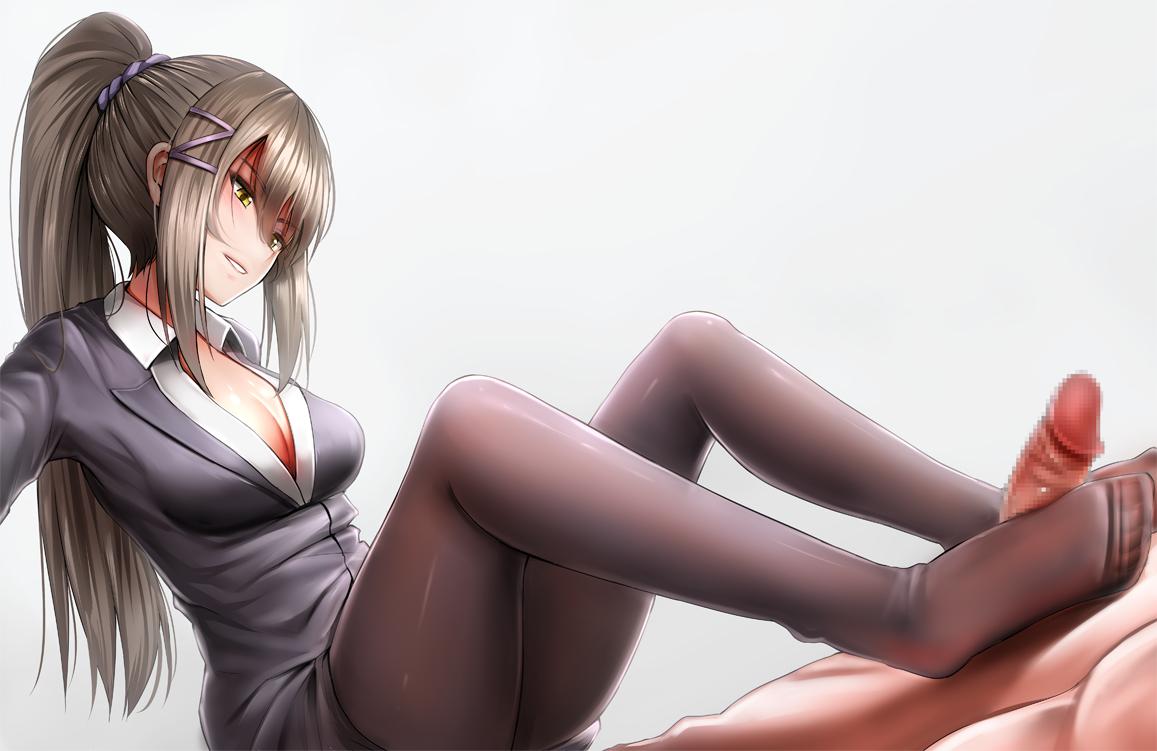 【二次元】茶柱佐枝の足コキエロ画像1【ようこそ実力至上主義の教室へ】