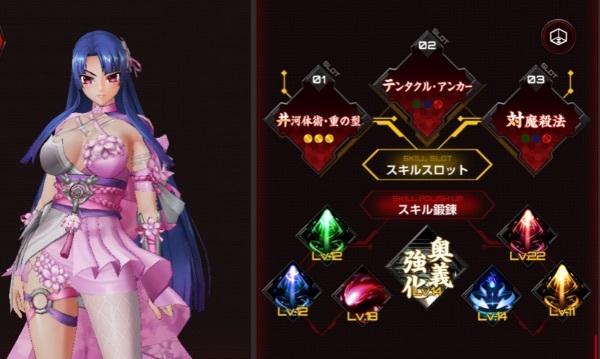 紫のスキルレベル