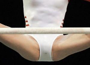 新体操選手が高確率で撮られてしまう瞬間がコチラwwwwwwwwwwwww