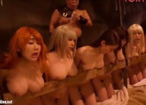【エロネタ本舗推薦】捕らえられた女戦士たちが媚薬精液で雌奴隷化する人間牧場