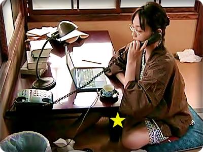 【ドラマ/ヘンリー塚本】盲目のマッサージ師を呼びスッキリする女流作家(Aoi)||