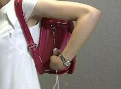 【画像】女子アナさん、ランドセルでお●ぱいが強調されてしまうwwwwwww