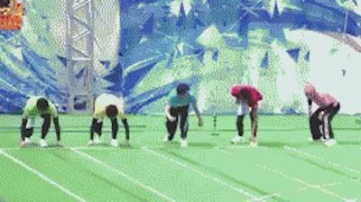 【GIF画像】木村拓哉の為にわざと転ぶ中居正広がすげえええええええええええええ