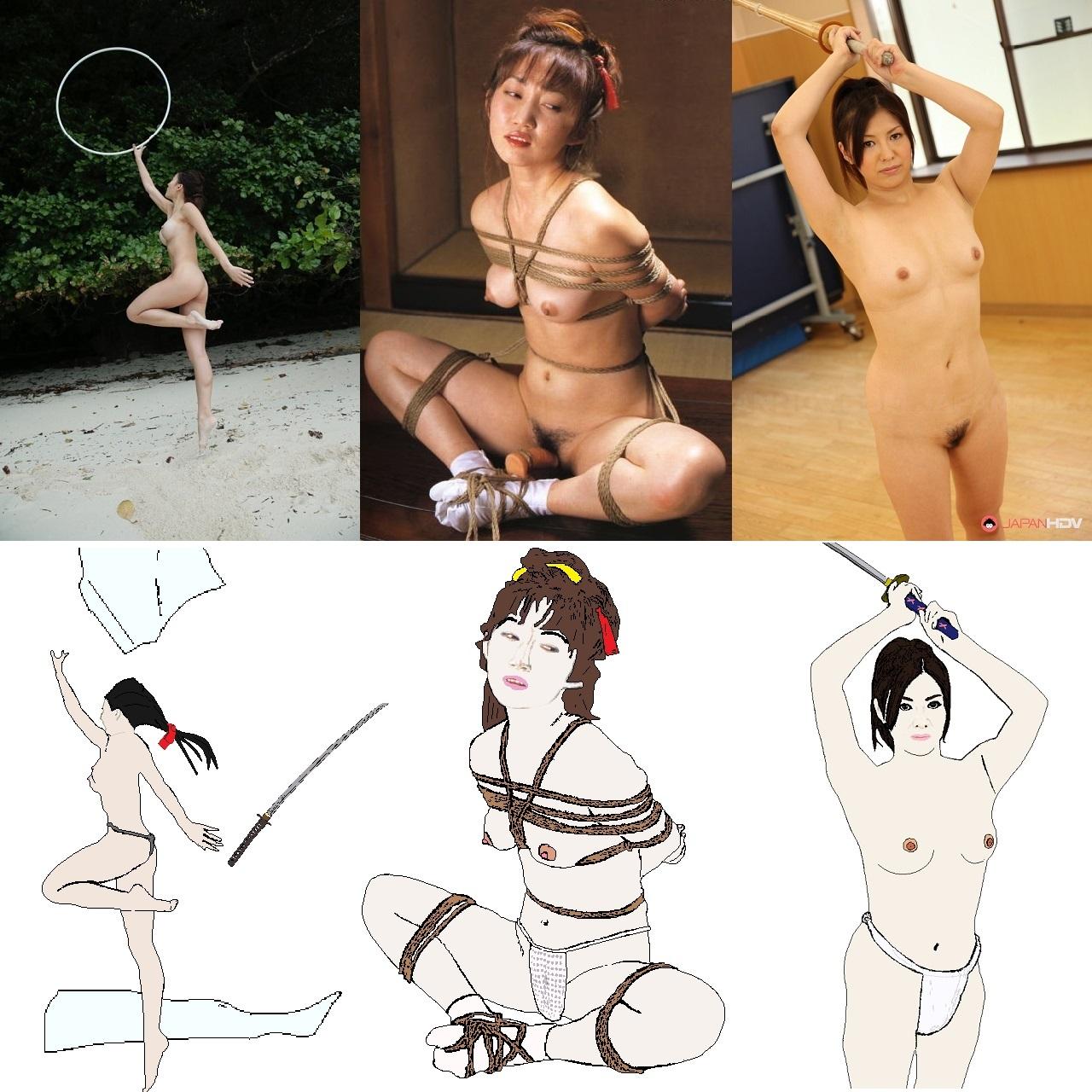 悲剣肌風before-after