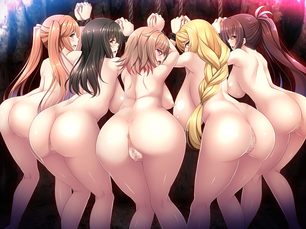 隷属の姫騎士姉妹HCG・エロ画像