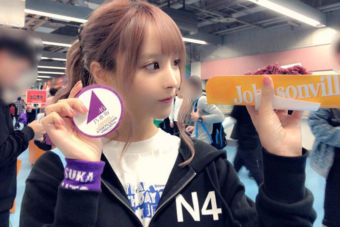 桃乃木かな 乃木坂46のライブに行く。