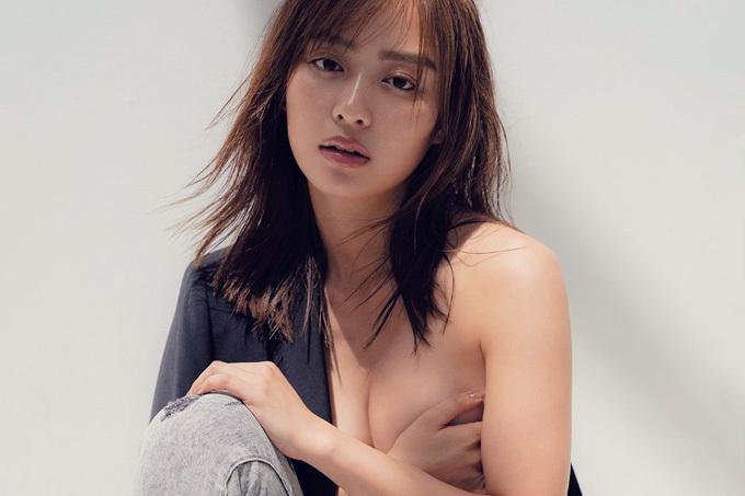 内田理央 美尻お姉さんがクールな手ブラ&下着姿で悩殺。
