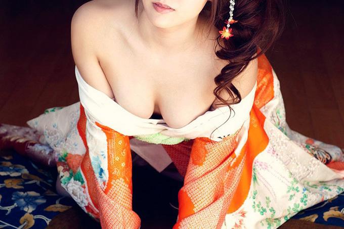 これぞ日本の心…和服エロ画像
