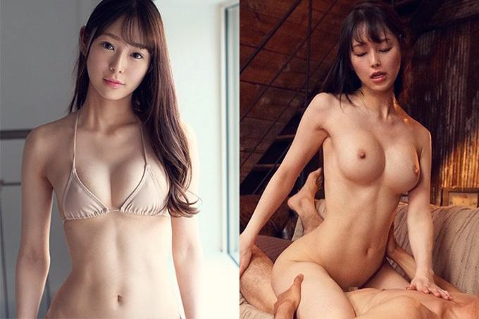 新名あみん 超小顔でFカップの黄金比ボディ美少女がAVデビュー!