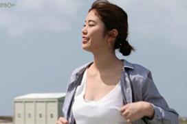 """""""神スイング""""稲村亜美、久々のテレビ出演でトンガリおっぱいを晒すwwwwwww(※画像あり)"""
