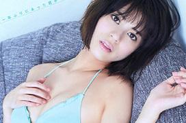 吉崎綾(21) ハーフモデルの美乳グラビア。