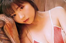 LARMEモデル斎藤みらい(25) グラビアでエッチな下着姿。
