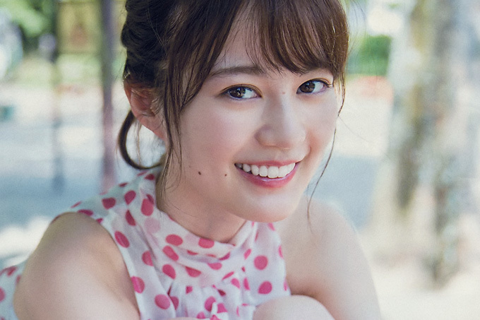 生田絵梨花 暑さを吹き飛ばす笑顔のお嬢さん。