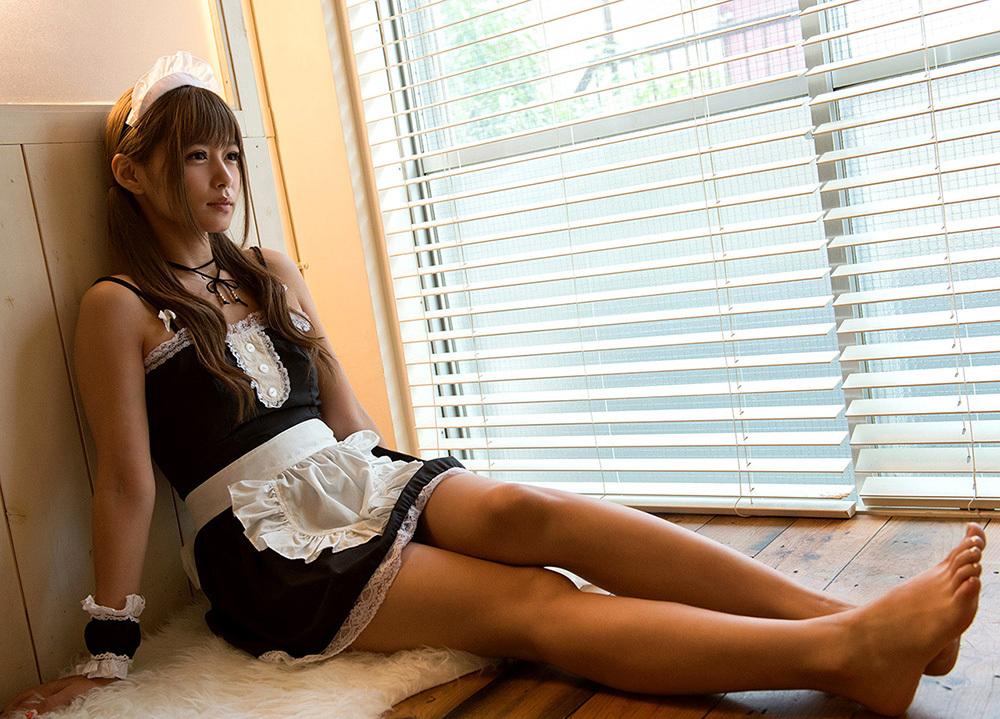 紺野ひかる メイド コスプレ 画像 8