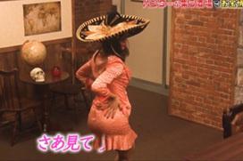 【放送事故】高橋メアリージュン(31)「ガキ使」でお尻突きだしパンツ透けwwwwwwwwww
