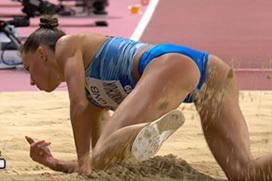 【エロ目線】世界陸上、女子選手のお尻が丸見えwwwwwwwwwwwww