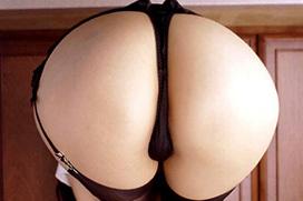 スパンキングしたら良い音出しそうな程よい重量感のお尻画像×38