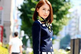 花咲いあん AV女優に憧れる上品な受付嬢のCカップおっぱい画像