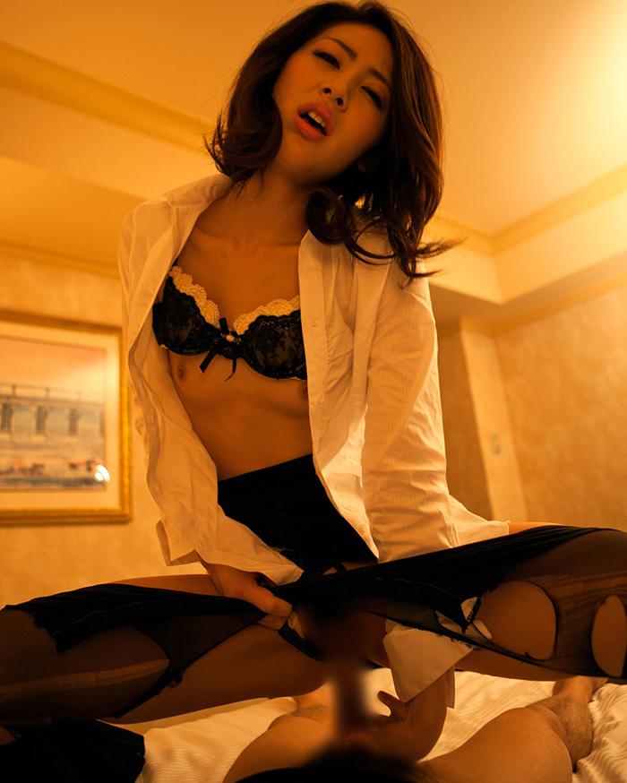 騎乗位 セックス 画像 92